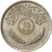 Monnaie, Iraq, 25 Fils, 1975, TTB, Copper-nickel, KM:127