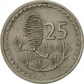 Coin, Cyprus, 25 Mils, 1980, EF(40-45), Copper-nickel, KM:40