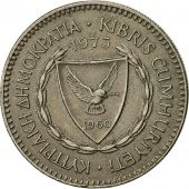 Coin, Cyprus, 50 Mils, 1973, EF(40-45), Copper-nickel, KM:41