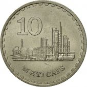Monnaie, Mozambique, 10 Meticais, 1980, TTB, Copper-nickel, KM:102