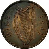 Coin, IRELAND REPUBLIC, Penny, 1941, EF(40-45), Bronze, KM:11