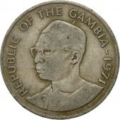 Monnaie, GAMBIA, THE, 50 Bututs, 1971, TTB, Copper-nickel, KM:12