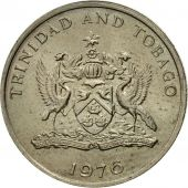 Coin, TRINIDAD & TOBAGO, 25 Cents, 1976, Franklin Mint, EF(40-45)