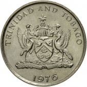 Coin, TRINIDAD & TOBAGO, 10 Cents, 1976, Franklin Mint, AU(55-58)