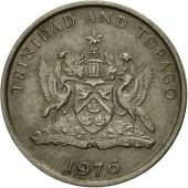 Coin, TRINIDAD & TOBAGO, 10 Cents, 1976, Franklin Mint, EF(40-45)