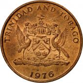 Coin, TRINIDAD & TOBAGO, Cent, 1976, Franklin Mint, AU(55-58), Bronze, KM:25