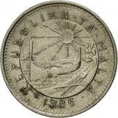25 cents malta 1986 coin km:80 copper-nickel ef 40-45 british royal mint