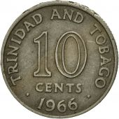Coin, TRINIDAD & TOBAGO, 10 Cents, 1966, Franklin Mint, EF(40-45)