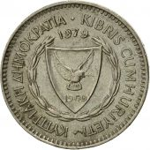 Coin, Cyprus, 50 Mils, 1979, EF(40-45), Copper-nickel, KM:41