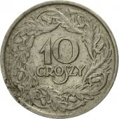 Coin, Poland, 10 Groszy, 1923, Warsaw, VF(20-25), Nickel, KM:11