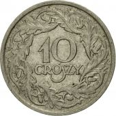 Coin, Poland, 10 Groszy, 1923, Warsaw, EF(40-45), Nickel, KM:11