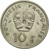 Monnaie, French Polynesia, 10 Francs, 1972, Paris, TTB, Nickel, KM:8
