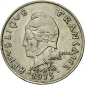 Monnaie, French Polynesia, 20 Francs, 1975, Paris, TTB, Nickel, KM:9
