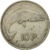 Monnaie, IRELAND REPUBLIC, 10 Pence, 1969, TB, Copper-nickel, KM:23