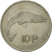 Coin, IRELAND REPUBLIC, 10 Pence, 1969, VF(30-35), Copper-nickel, KM:23