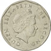 Coin, East Caribbean States, Elizabeth II, Dollar, 2002, British Royal Mint