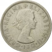 Coin, Great Britain, Elizabeth II, Florin, Two Shillings, 1955, EF(40-45)