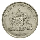 Coin, TRINIDAD & TOBAGO, 10 Cents, 1975, Franklin Mint, EF(40-45)