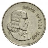 Coin, South Africa, 5 Cents, 1965, VF(30-35), Nickel, KM:67.1