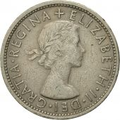 Coin, Great Britain, Elizabeth II, Florin, Two Shillings, 1966, VF(30-35)