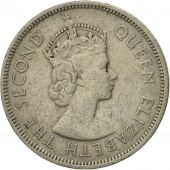 Coin, Mauritius, Elizabeth II, Rupee, 1975, VF(30-35), Copper-nickel, KM:35.1