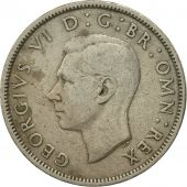 Coin, Great Britain, George VI, Florin, Two Shillings, 1951, VF(30-35)