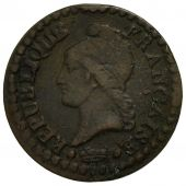Coin, France, Dupré, Centime, 1799, Paris, VF(20-25), Bronze, KM:646