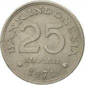 Coin, Indonesia, 25 Rupiah, 1971, VF(30-35), Copper-nickel, KM:34
