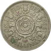 Coin, Great Britain, Elizabeth II, Florin, Two Shillings, 1966, VF(20-25)