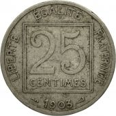 Monnaie, France, Patey, 25 Centimes, 1903, Paris, TB, Nickel, Gadoury:362