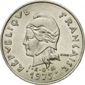 Monnaie, French Polynesia, 10 Francs, 1975, Paris, TTB, Nickel, KM:8