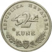 Monnaie, Croatie, 2 Kune, 2003, TTB, Copper-Nickel-Zinc, KM:10