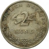 Monnaie, Croatie, 2 Kune, 2001, TB, Copper-Nickel-Zinc, KM:10