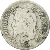 Coin, France, Napoleon III, Napoléon III, 20 Centimes, 1864, Paris, VF(20-25)