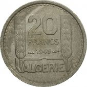 Monnaie, Algeria, 20 Francs, 1949, Paris, TB+, Copper-nickel, KM:91