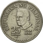 Monnaie, Philippines, 25 Sentimos, 1982, TB+, Copper-nickel, KM:227
