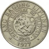 Monnaie, Philippines, 25 Sentimos, 1977, TTB, Copper-nickel, KM:208