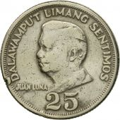 Monnaie, Philippines, 25 Sentimos, 1967, TTB, Copper-Nickel-Zinc, KM:199