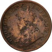 Coin, INDIA-BRITISH, George V, 1/4 Anna, 1936, VF(20-25), Bronze, KM:512