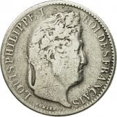 Coin, France, Louis-Philippe, 1/2 Franc, 1844, Paris, VF(20-25), Silver