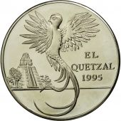 Guatemala, 10 Quetzales, Tower, Copper-nickel, KM:2f.2