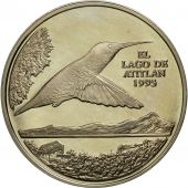 Guatemala, Quetzal, 1995, Tower, SPL, Copper-nickel, KM:1f.2