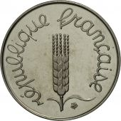 France, Centime, 1974,Piefort, MS(63), Chrome-Steel, KM:P485, Gadoury:4.P1
