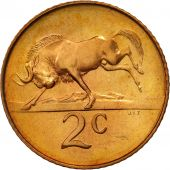 South Africa, 2 Cents, 1965, MS(63), Bronze, KM:66.2