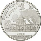 Northern Ireland, Medal, 1 onz. Europa, MS(65-70), Silver