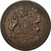 United Kingdom , Medal, Georges IV, Elgin, Théseus, Thomason, TTB+, Bronze