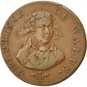 United Kingdom , Jeton, Geo. Prince of Wales, Half Penny, London, 1744, TTB