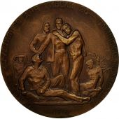 Poland, Medal, Commemorative Medal,1918-1958, AU(50-53), Bronze