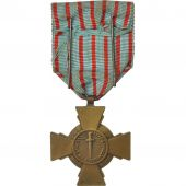 France, Croix du Combattant, Medal, 1914-1918, Very Good Quality, Bronze, 36.5