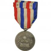 France, Travail, Chemins de Fer, Medal, 1934, Very Good Quality, Roty, Silvered